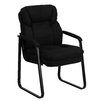 <strong>Executive Guest Side Chair with Sled Base</strong> by Flash Furniture