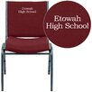 Flash Furniture Hercules Series Personalized Heavy Duty Upholstered Stackable Chair