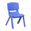"Flash Furniture 10.5"" Plastic Stackable Classroom Chair (Set of 5)"