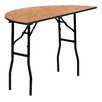 "<strong>Flash Furniture</strong> 48"" Semi Circle Folding Table"