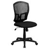 Flash Furniture Smith Mid-Back Computer Chair in Black
