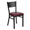 Flash Furniture Hercules Series Grid Back Side Chair