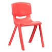 "Flash Furniture 18"" Plastic Classroom Stackable School Chair"
