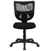 Flash Furniture Mid-Back Task Chair with Padded Fabric Seat