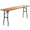 "<strong>72"" Rectangular Folding Table</strong> by Flash Furniture"