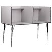 <strong>Double Wide Study Carrel Desk</strong> by Flash Furniture