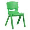 "<strong>Flash Furniture</strong> 15.5"" Plastic Classroom Stackable School Chair"