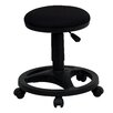 Flash Furniture Height Adjustable Stool with Footring