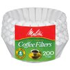 Melitta 4 - 6 Cup Paper Basket Coffee Filter (Set of 200)