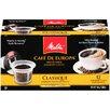 Melitta Classique Supreme Hard Pod Coffee (Set of 12)