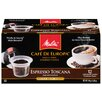 <strong>Melitta</strong> Espresso Toscana Hard Pod Coffee (Pack of 12)