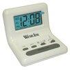 Westclox LCD Alarm Clock with Light on Demand