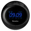 Westclox Round LED Bluetooth Radio Clock