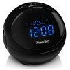 Westclox Round LED Bluetooth Radio Clock