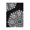 <strong>Alliyah Rugs</strong> White/Black Rug
