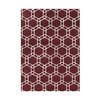 Alliyah Rugs Lipstick Red Rug