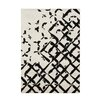 <strong>Alliyah Rugs</strong> Ivory/Black Rug