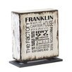 Phillips Collection Weathered City Accent Box Sculpture