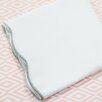 Oliver B Scallop 2 Piece Crib Bedding Set