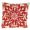 Design Accents LLC Damascus Cotton Linen Pillow