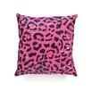Design Accents LLC All Over Sequin Design Leopard Pillow