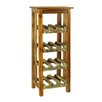 <strong>Antique Revival</strong> Rustic Valley 12 Bottle Wine Rack