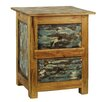 <strong>Antique Revival</strong> Rustic Valley End Table