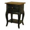Antique Revival Rustic Valley Le Bureau Telephone Table