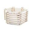 Antique Revival Tuscany Storage Bin Basket