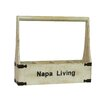 <strong>Napa Living 4 Bottle Wine Holder</strong> by Antique Revival