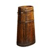 <strong>Antique Revival</strong> Wooden Tall Bucket with Iron Handles