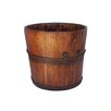 <strong>Antique Revival</strong> Vintage Wooden Sink Bucket