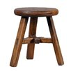 <strong>Antique Revival</strong> Vintage Round Top Stool