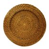 ChargeIt! by Jay Harvest Rattan Charger Plate (Set of 4)