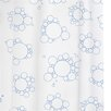 Croydex Bubbles PEVA Shower Curtain