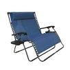 Bliss Hammocks Double Lounger Chair with 1 Long Pillow