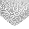 American Baby Company Heavenly Soft Chenille Fitted Crib Sheet