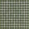 "Interceramic Shimmer 1"" x 1"" Ceramic Glossy Mosaic in Forest"