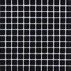 "Interceramic Shimmer 1"" x 1"" Ceramic Glossy Mosaic in Midnight"