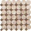 <strong>Marazzi</strong> Campione Random Sized Octagon Mesh-Mounted Mosaic in Armstrong
