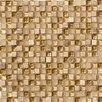 Marazzi Crystal Stone Glass Mosaic in Gold