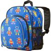 <strong>Wildkin</strong> Olive Kids Robots Pack 'n Snack Backpack