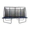 Upper Bounce Spacious 14' Rectangular Trampoline & Fiber Flex Enclosure