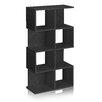 "Way Basics zBoard Eco 4 Shelf Malibu 49.0"" Bookcase and Storage Shelf"
