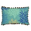 Waverly Marine Life Reversible Oblong Decorative Pillow