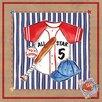 Art 4 Kids Baseball Jersey Canvas Art