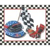 <strong>Race Car Gear I Canvas Art</strong> by Art 4 Kids
