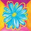 <strong>Art 4 Kids</strong> Vivid Daisy Square I Canvas Art