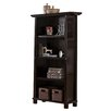 Martin Home Furnishings Kyoto 4-Shelf Wood Bookcase