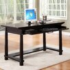 Martin Home Furnishings Kyoto Computer Desk with Keyboard Tray